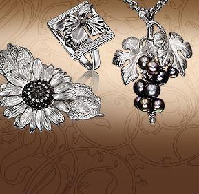 Оригинальный дизайн украшений из серебра выполненный в стиле «Альдзена», в  которых использованы уникальные и сверкающие ювелирные камни ENLIGHTENED ... 906f29167ce